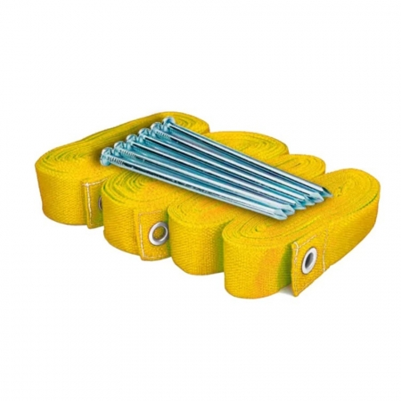 Kit de Marcação SPIN para Beach Tennis Amarelo