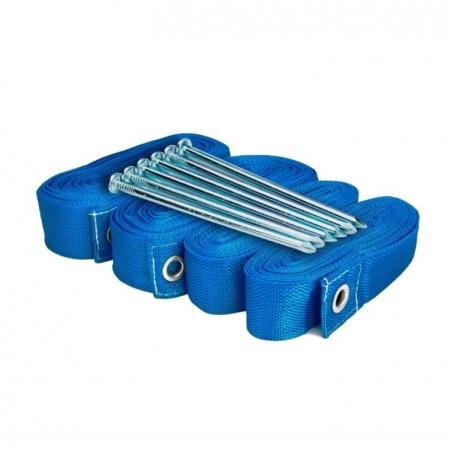Kit de Marcação SPIN para Beach Tennis Azul