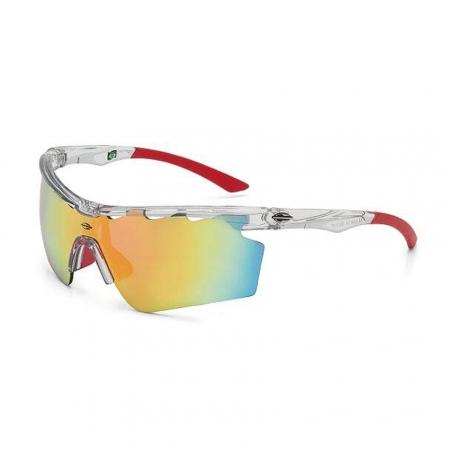 óculos de SOL Mormaii ATHLON 5 Translucido e Vermelho