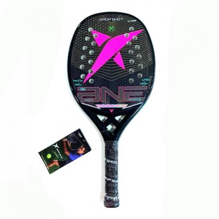 Raquete de Beach Tennis DROP SHOT Conqueror 9.0 SOFT 2021