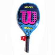 Raquete de Beach Tennis Wilson Sunset AZUL