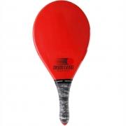 Raquete de Frescobol FAST BALL Evolution Vermelha