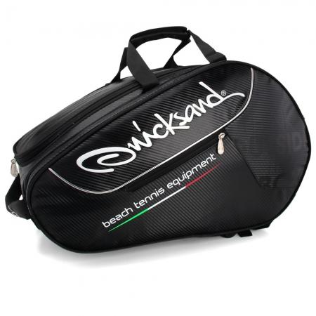 Raqueteira de Beach Tennis Quicksand 2020 Preta