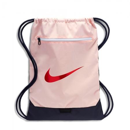 Sacola Nike Brasilia GYMSACK 9.0 Rosa