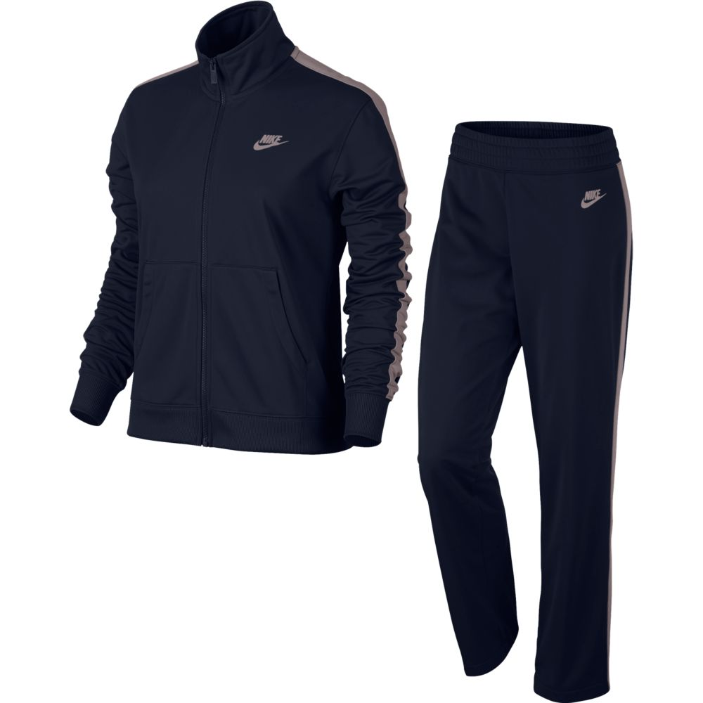Agasalho Nike Sportswear TRK Suit Feminino Marinho