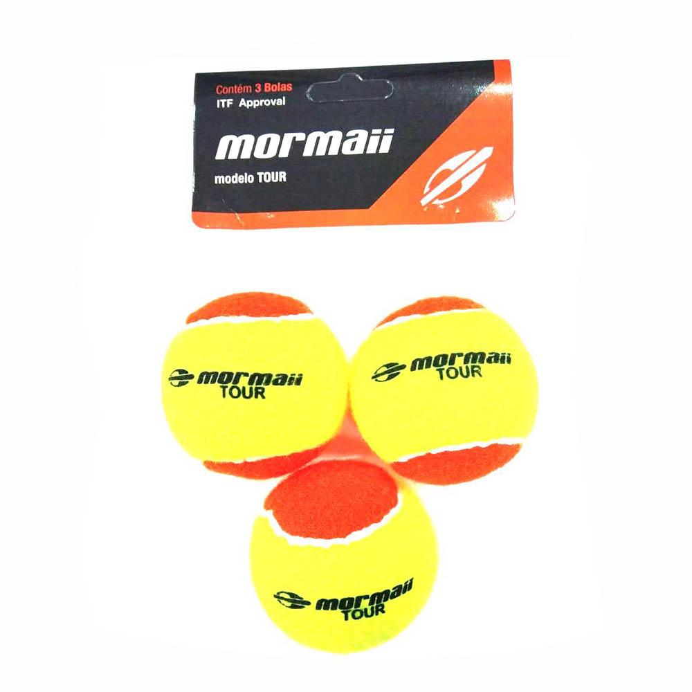 Bola de Beach Tennis Mormaii Tour com 3