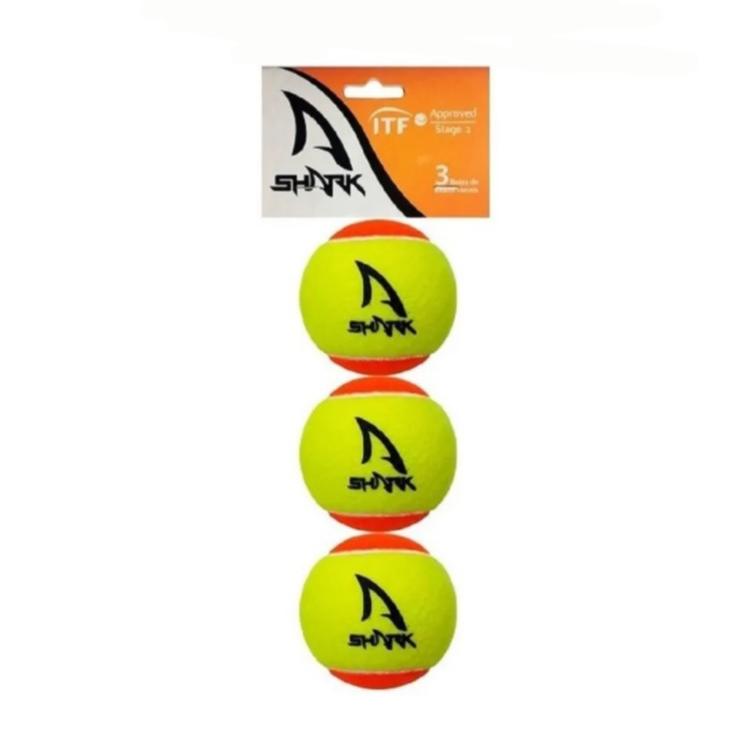 Bola de Beach Tennis SHARK com 3