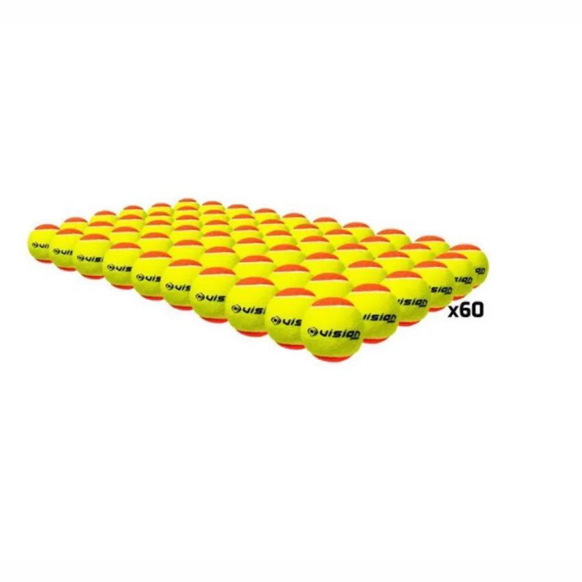 Bola de Beach Tennis Vision Saco com 60 Bolas