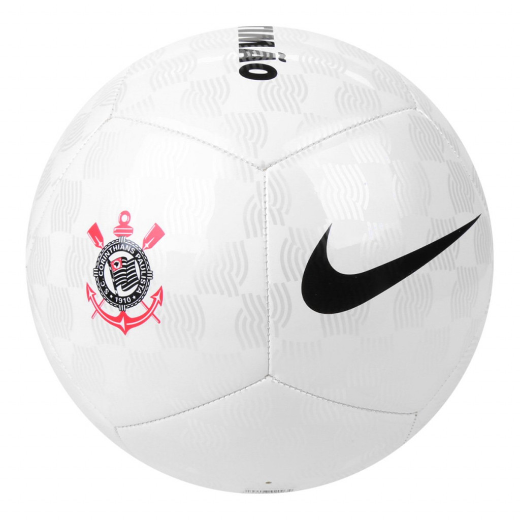 Bola de Futebol Nike PITCH Corinthians Campo