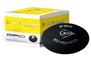 Bola de Squash Dunlop Revelation PRO 2 Pontos Amarelos