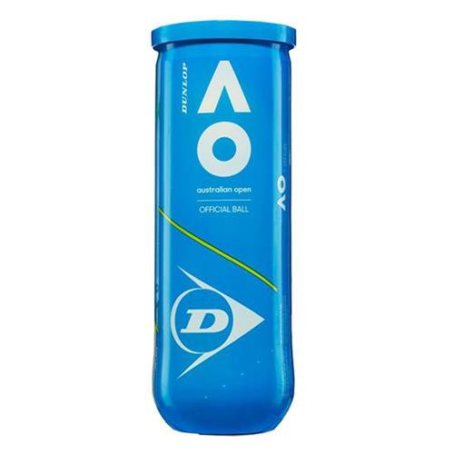Bola de Tenis Dunlop Australian OPEN ALL Surface Tubo com 3