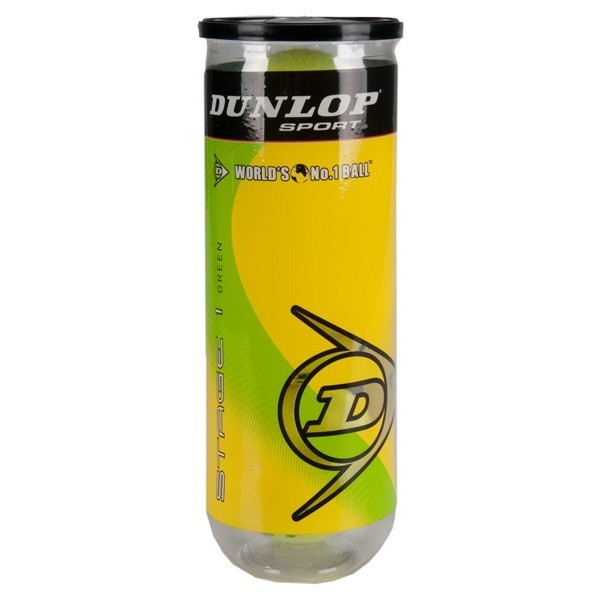 Bola de Tenis Dunlop Mini Green Estagio 1