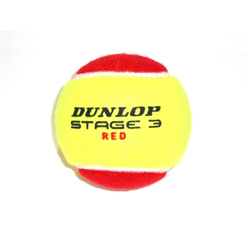 Bola de Tenis Dunlop Mini RED Estagio 3 Unidade