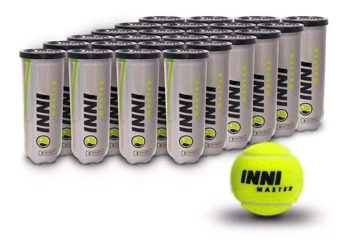 Bola de Tenis INNI Master Caixa com 24 Tubos