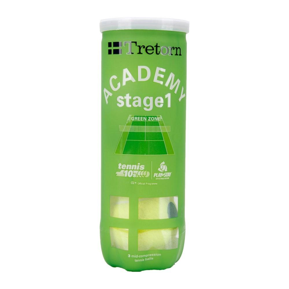 Bola de Tenis Tretorn Green Stage 1