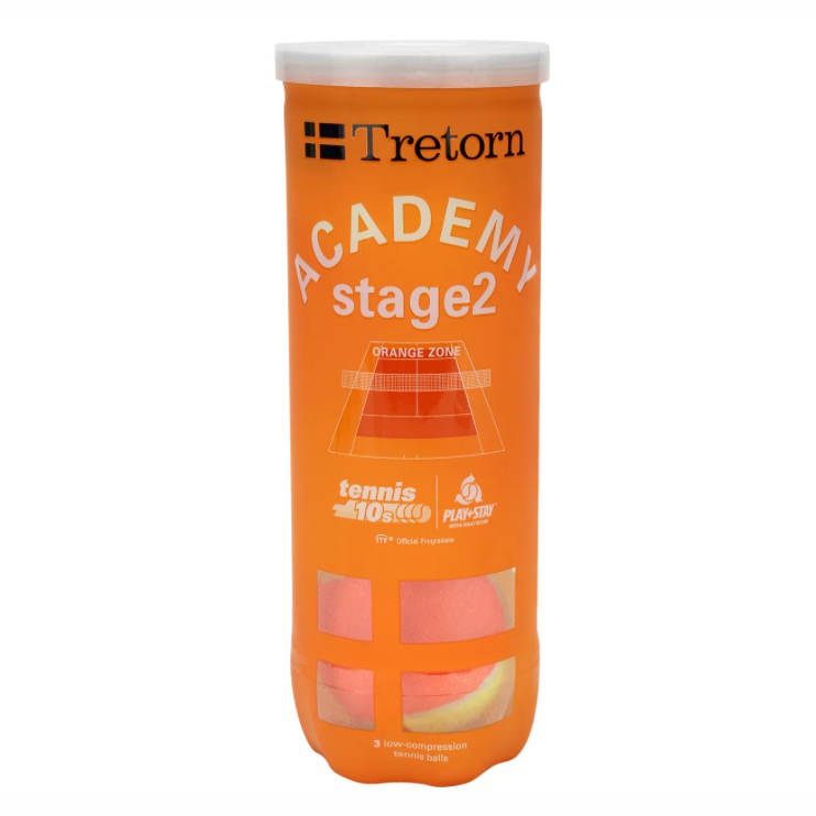 Bola de Tenis Tretorn Orange Stage 2
