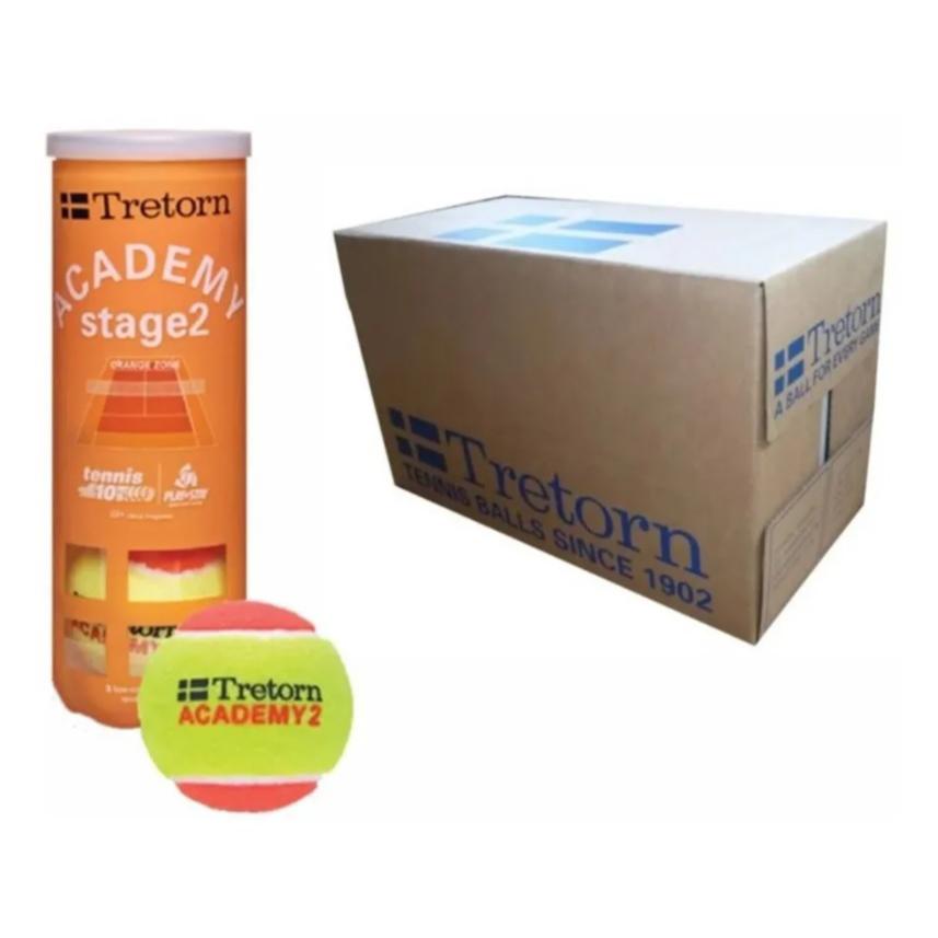Bola de Tenis Tretorn Orange Stage 2 / Caixa com 24