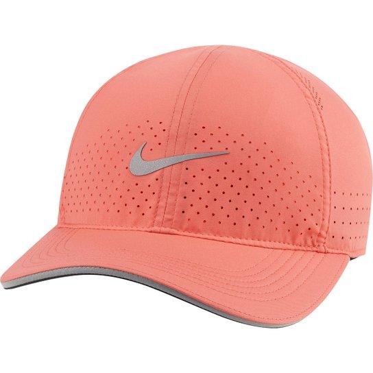 Boné Nike DRI FIT Aerobill Featherlight Unisex Papaya