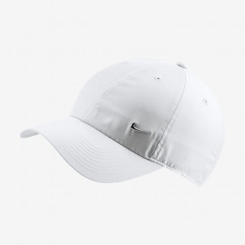 Boné Nike Heritage 86 Metal Swoosh Branco