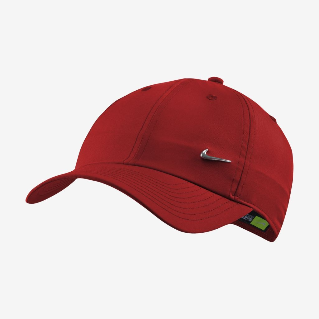 Boné Nike Heritage 86 Metal Swoosh Vermelho