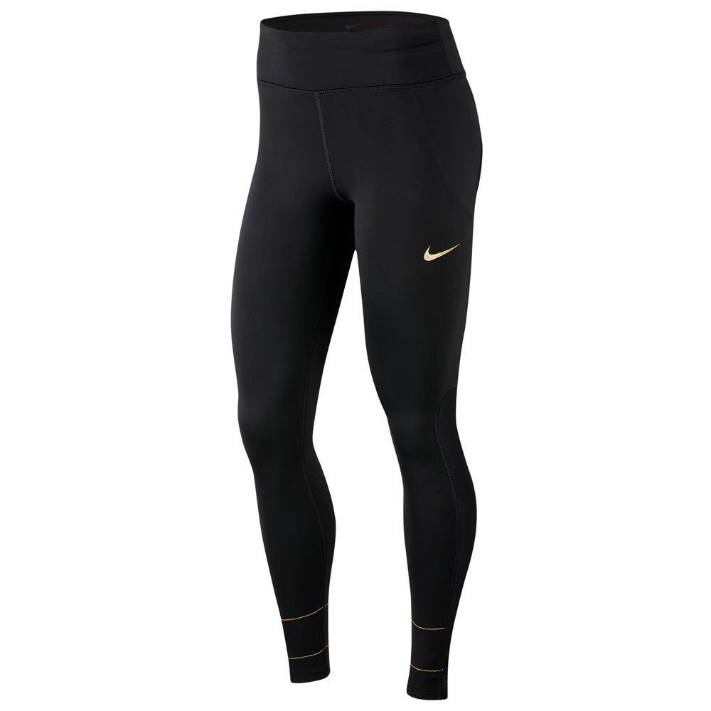 Calça Nike Legging FAST GLAM DUNK Feminina Preta