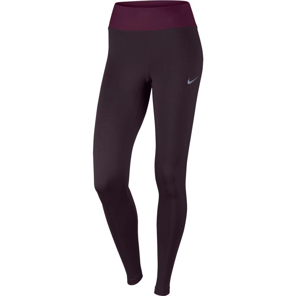Calça Nike Power Essential Feminina Vinho