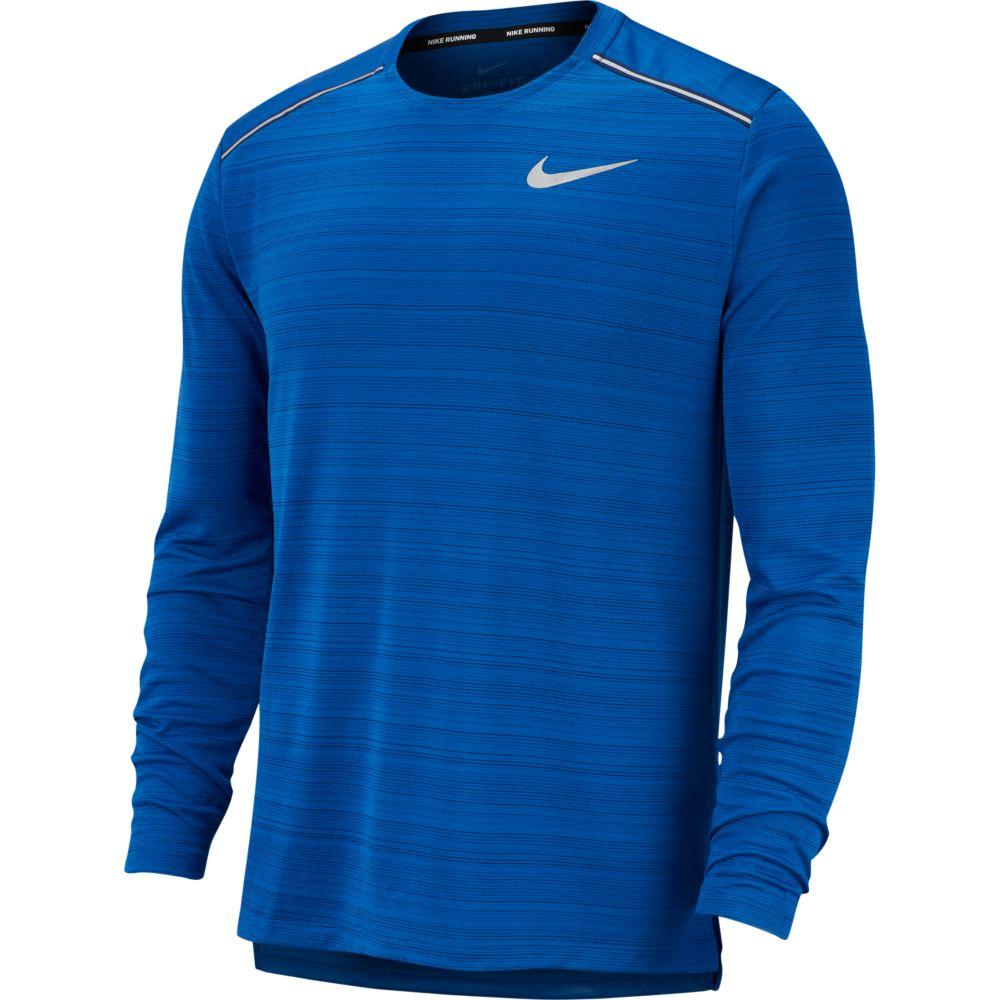 Camiseta Manga Longa Nike DRY Miler TOP LS Blue Force