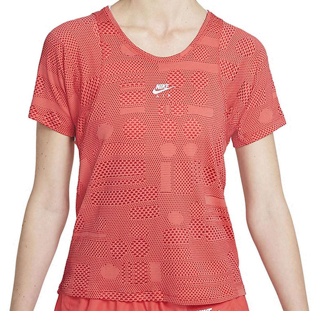 Camiseta Nike AIR DRI FIT Laranja Feminina