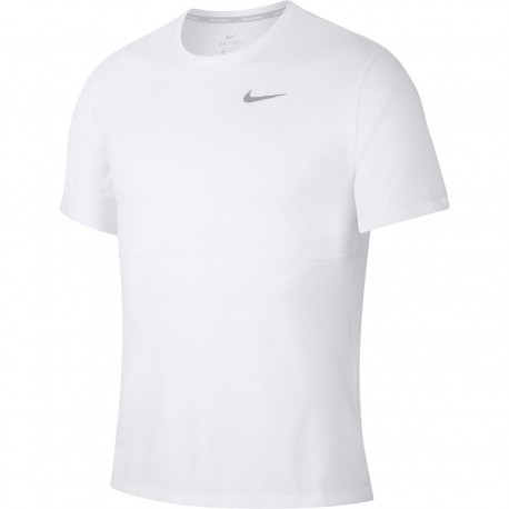 Camiseta Nike Breathe RUN TOP Branca