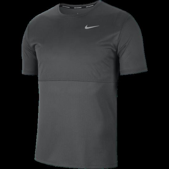 Camiseta Nike Breathe RUN TOP Cinza