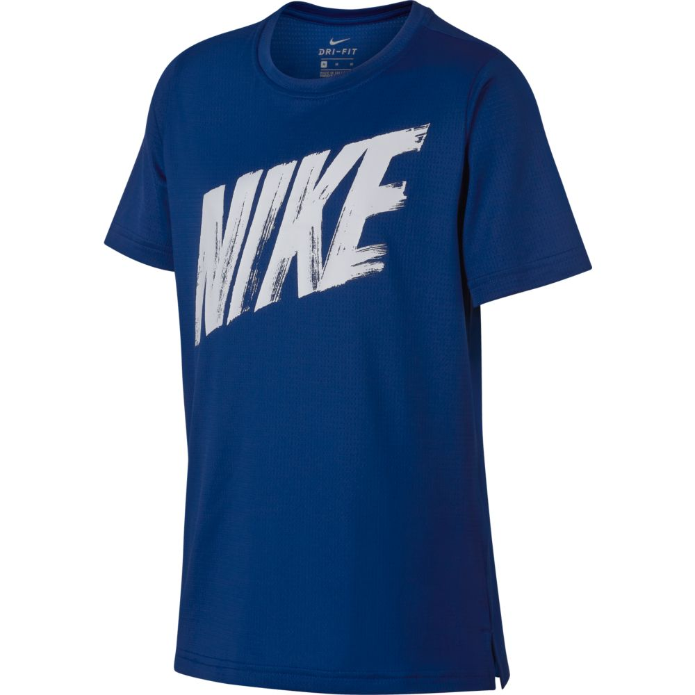 Camiseta Nike Breathe TOP SS Infantil Indigo Force