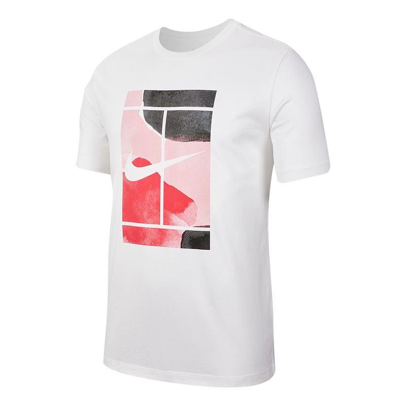 Camiseta Nike Court Branca