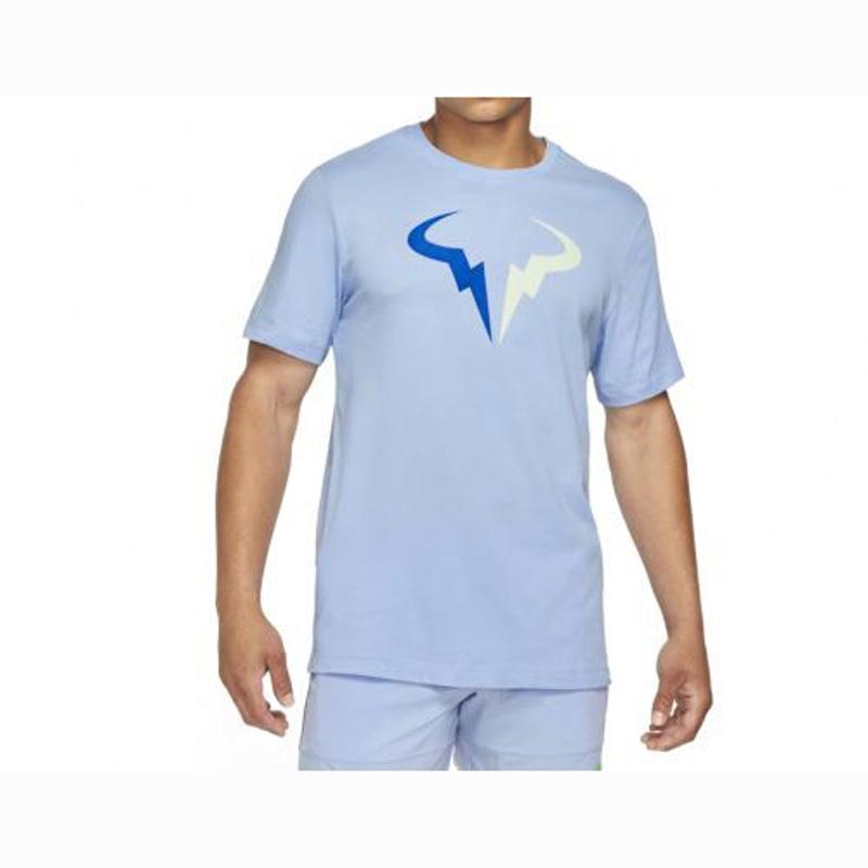Camiseta Nike Court DRI FIT Rafa AZUL