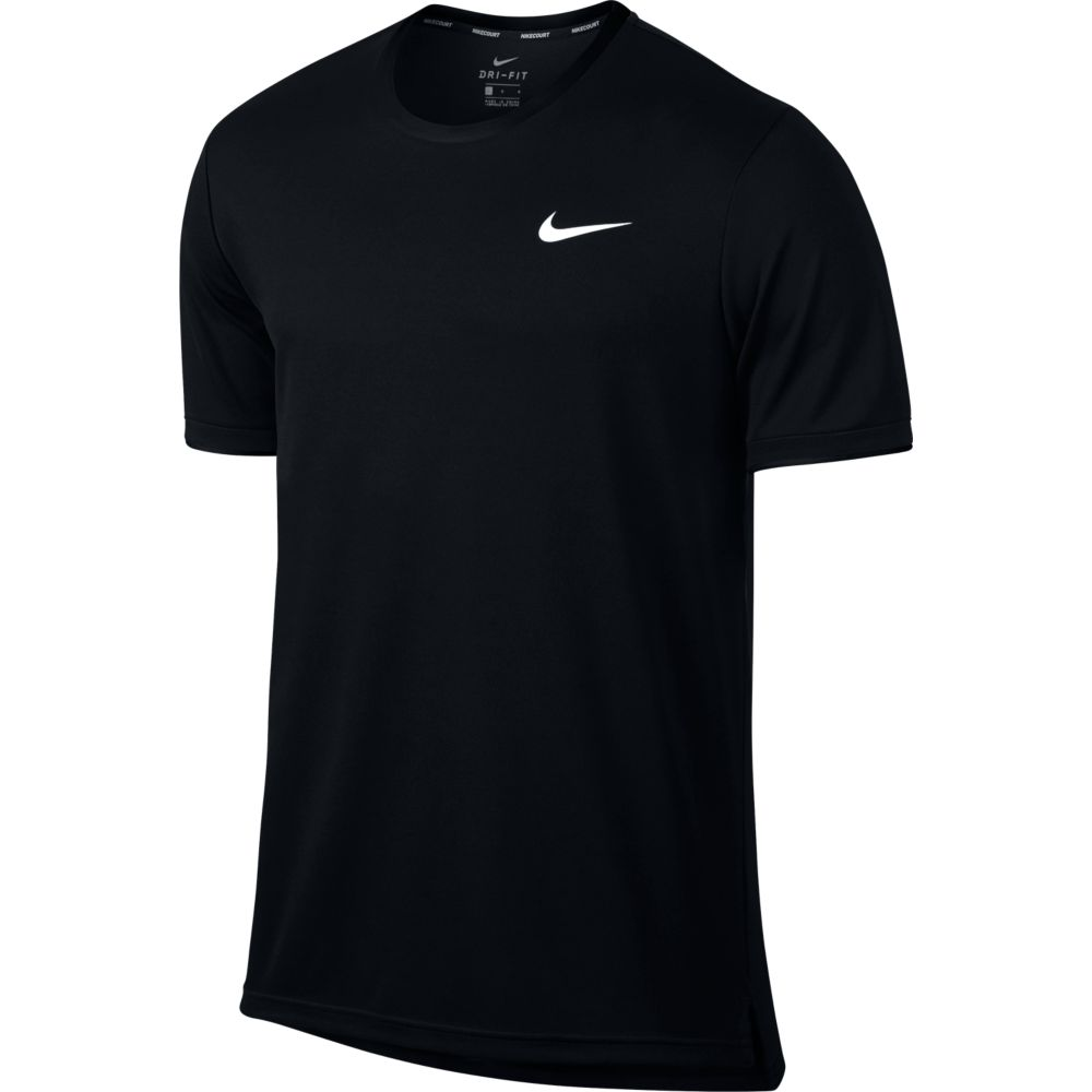 Camiseta Nike Court DRY TOP Team PRETA2