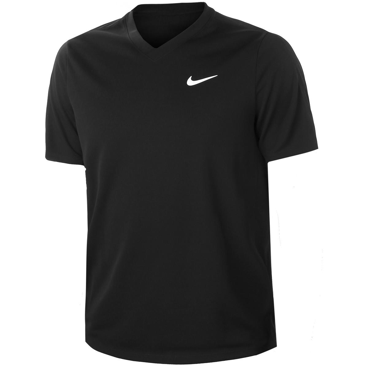 Camiseta Nike Court DRY Victory Preta
