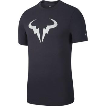 Camiseta Nike Court Rafa Cinza
