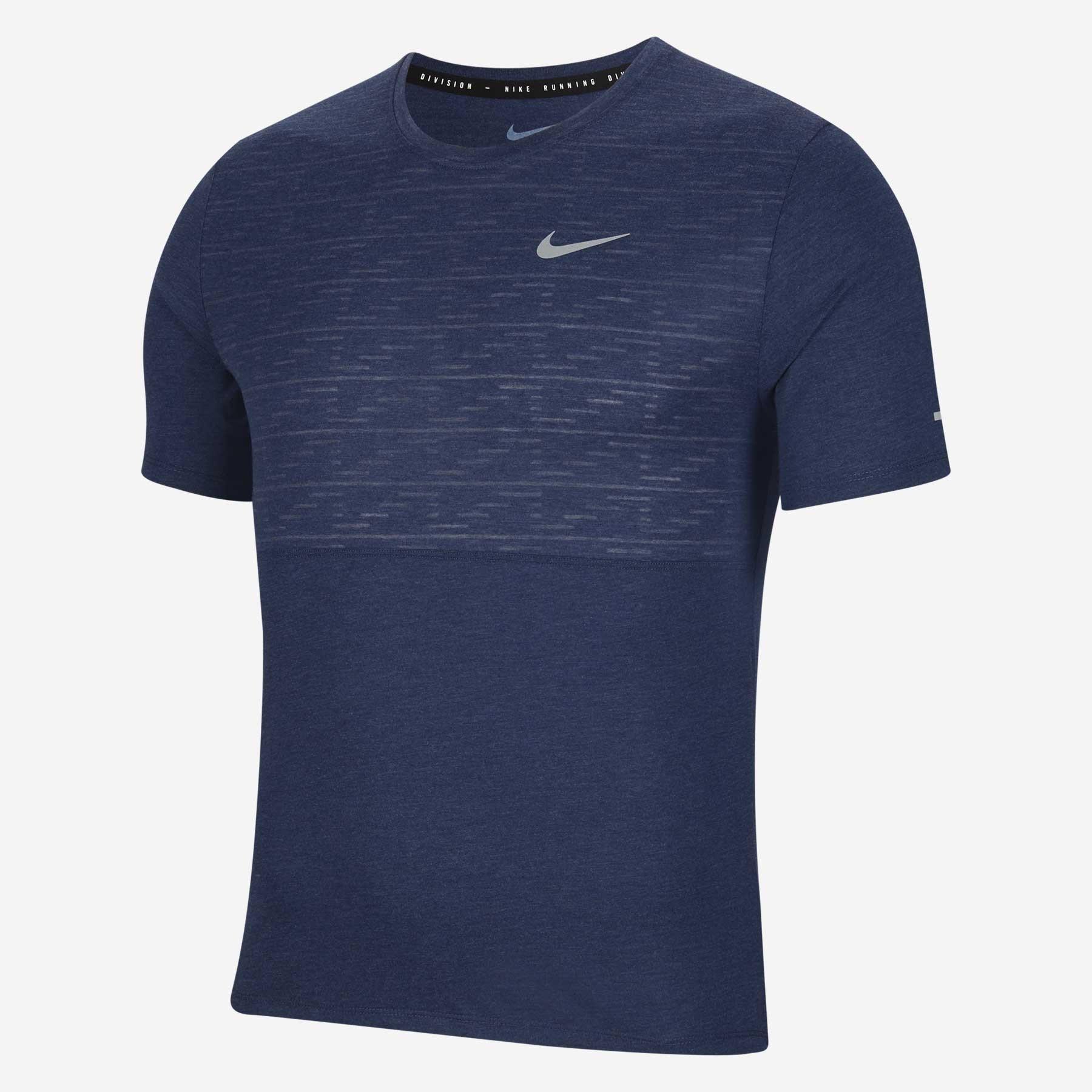 Camiseta Nike DRI FIT RUN Division Miler AZUL