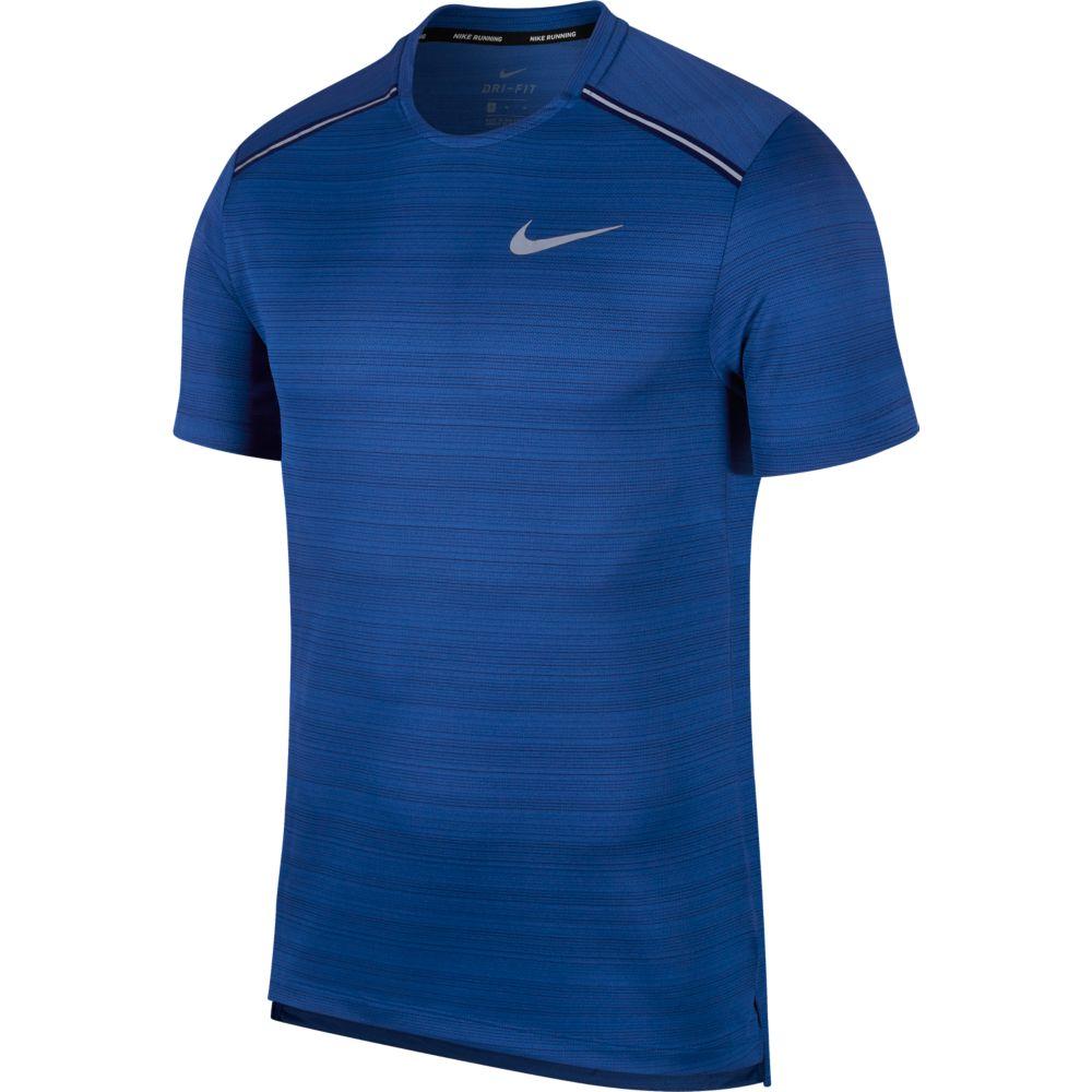 Camiseta Nike DRY Miler TOP SS Indigo Force