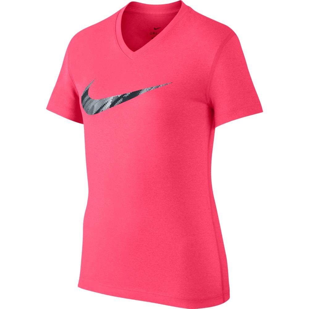 Camiseta Nike DRY Tee Infantil Feminina PINK