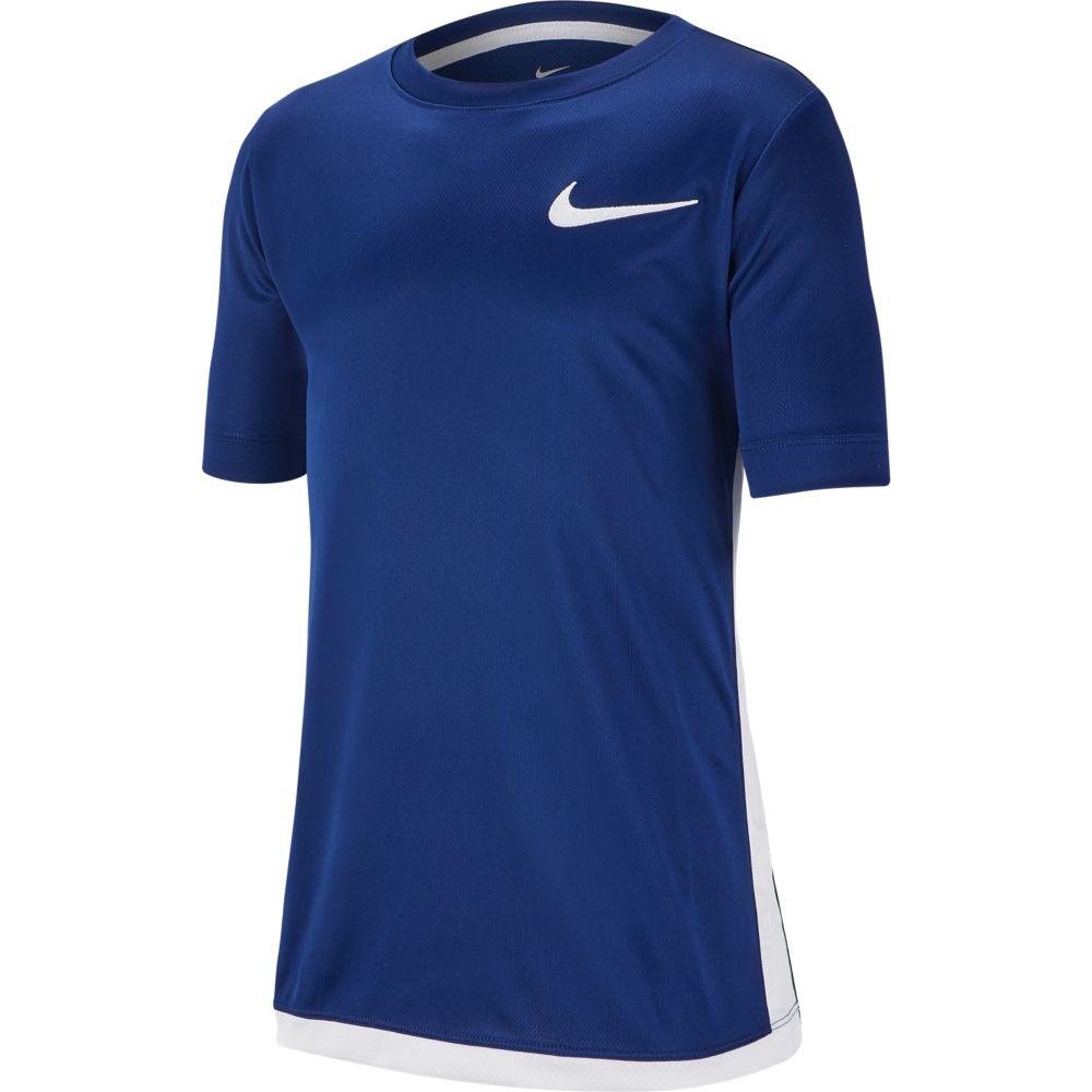 Camiseta Nike DRY TOP SS TROPHY Infantil AZUL