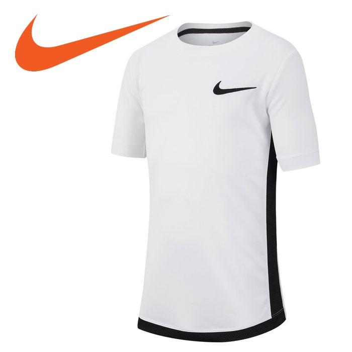 Camiseta Nike DRY TOP SS TROPHY Infantil Branco