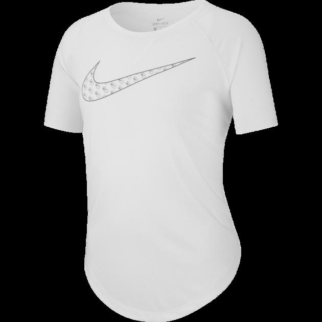 Camiseta Nike DRY TROPHY Infantil Feminina Branca