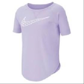 Camiseta Nike DRY TROPHY Infantil Feminina Lavender MIST