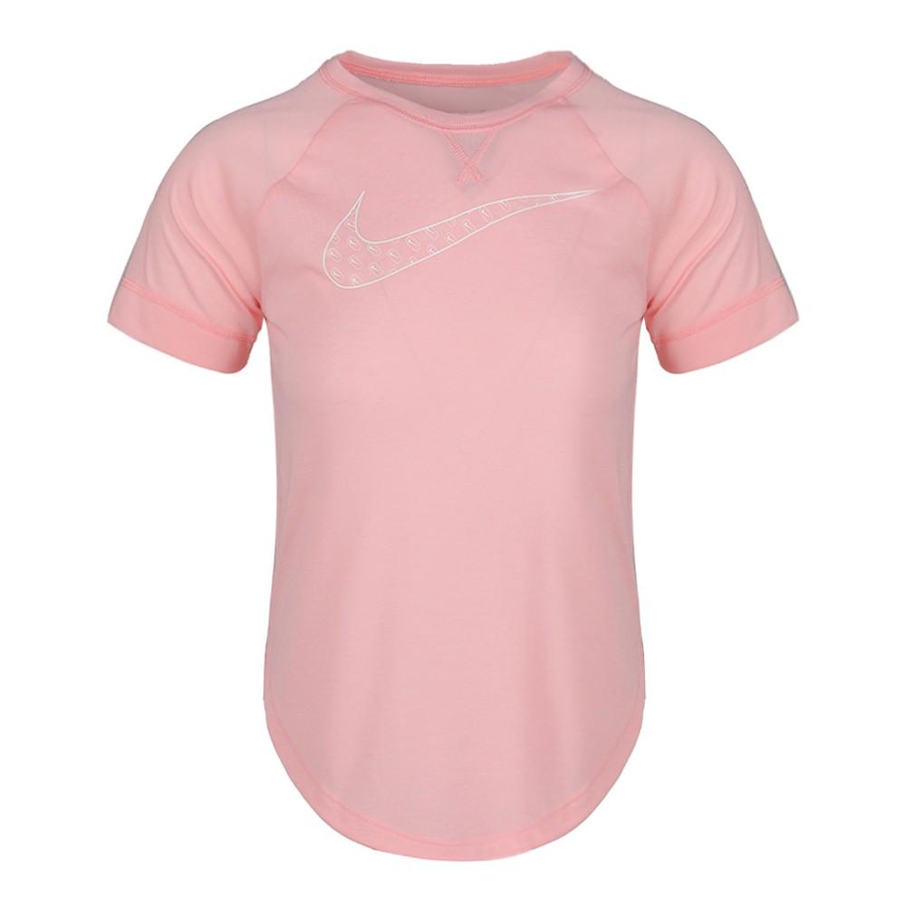 Camiseta Nike DRY TROPHY Infantil Feminina Rosa