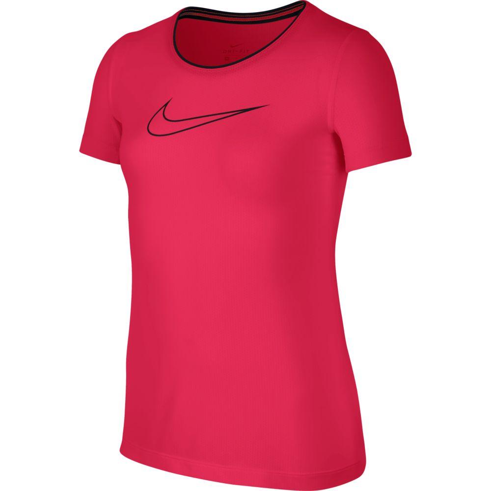 Camiseta Nike PRO Cool TOP SS Infantil Feminina PINK