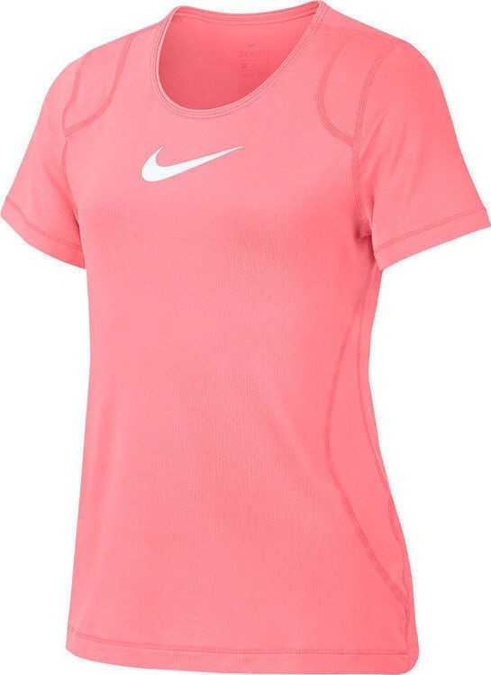 Camiseta Nike PRO TOP SS Swoosh Infantil Rosa