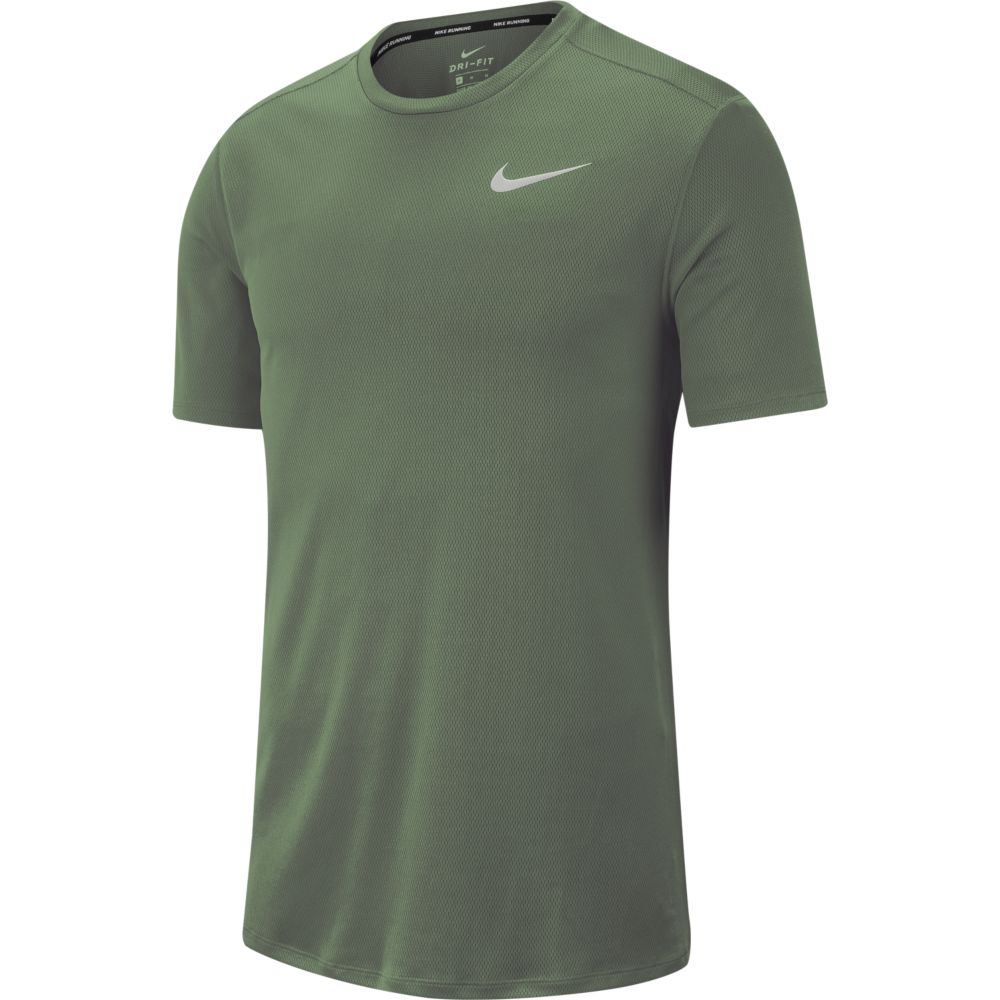 Camiseta Nike RUN TOP SS Juniper FOG