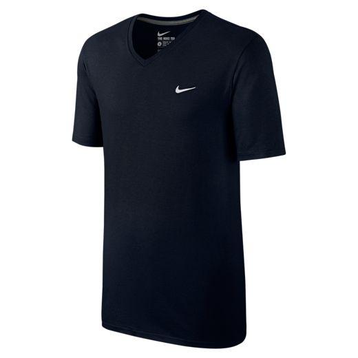 Camiseta Nike TEE-V NECK EMB Preta