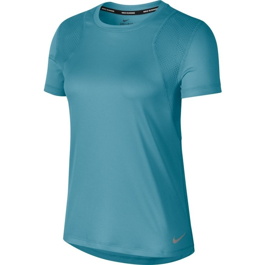 Camiseta Nike TOP SS RUN Feminina Verde