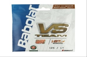 Corda de Tenis Babolat VS Team 1.25MM / 17 (tripa Natural)